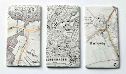 Map panels to guide the way