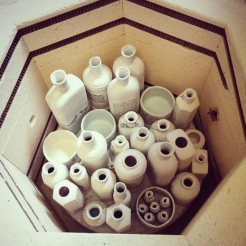 work in Kiln