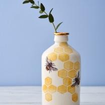Large porcelain bee bottle