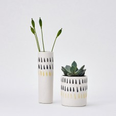Tear drop print vessels