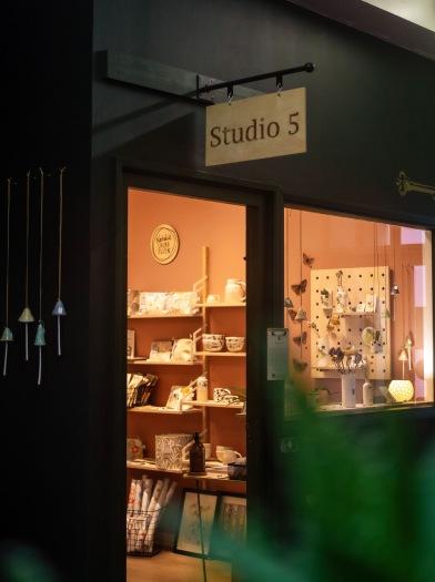 Outside Studio 5 at Manchester Craft & Design Centre